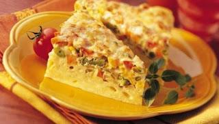 Resep dan Cara Membuat Omlet Macaroni Sayur