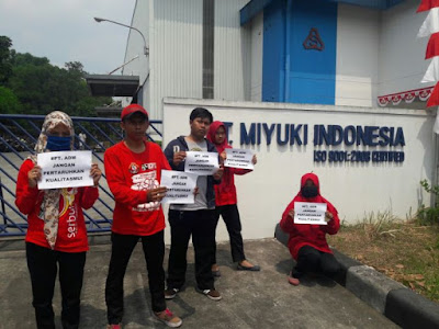 Lowongan Terbaru di Karawang Lulusan SMA,SMK PT Miyuki Indonesia