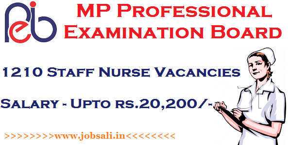 MP Online VYAPAM, MP Govt jobs, Government Nursing Jobs