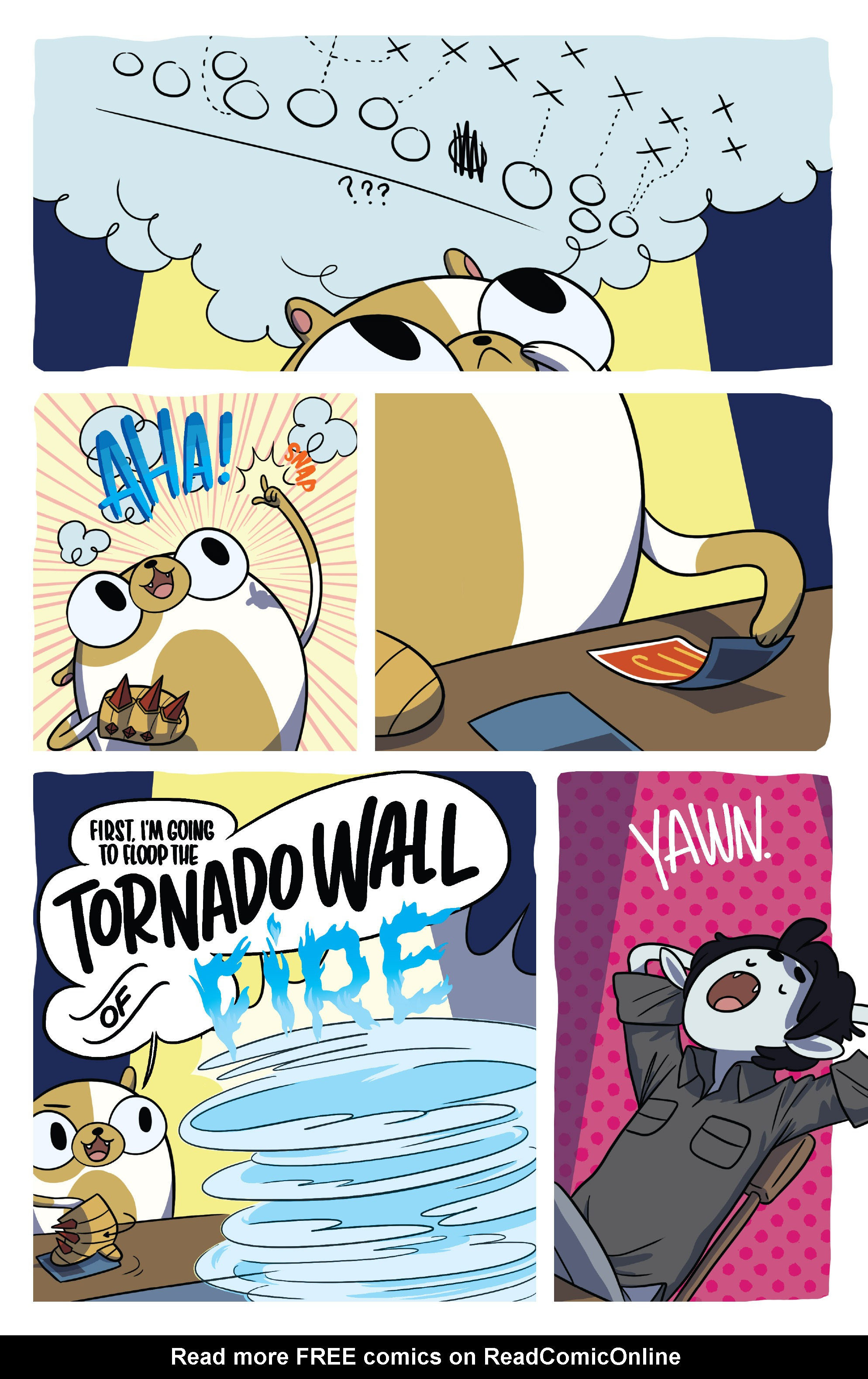 Read online Adventure Time Fionna and Cake Card Wars comic -  Issue #5 - 17