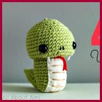 Año de la serpiente amigurumi
