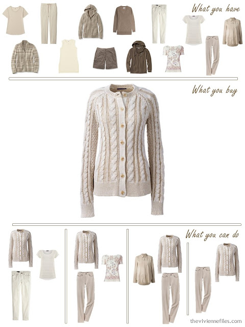 How to build a capsule wardrobe in shades of beige and brown