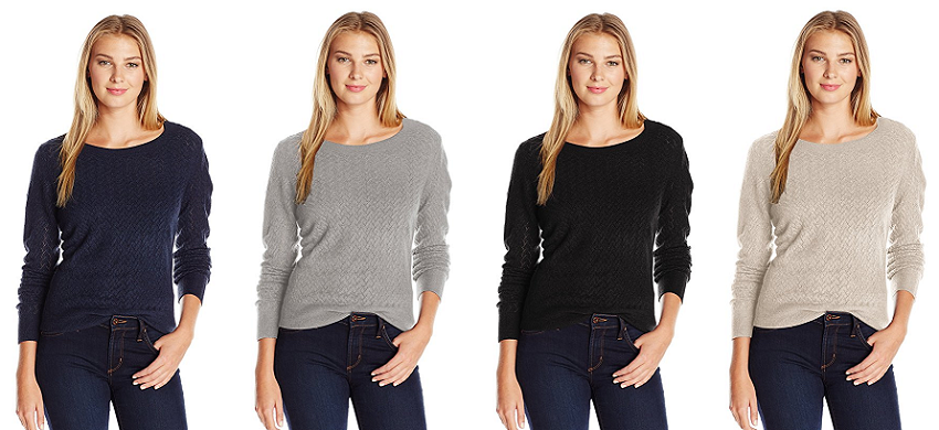 Dockers Herringbone Weave Sweater