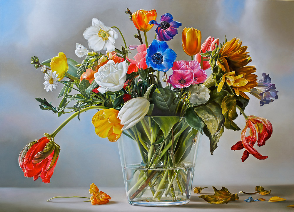 16-Flower-Power-Tjalf-Sparnaay-The-Beauty-of-the-Everyday-Paintings-of-Food-Art-www-designstack-co
