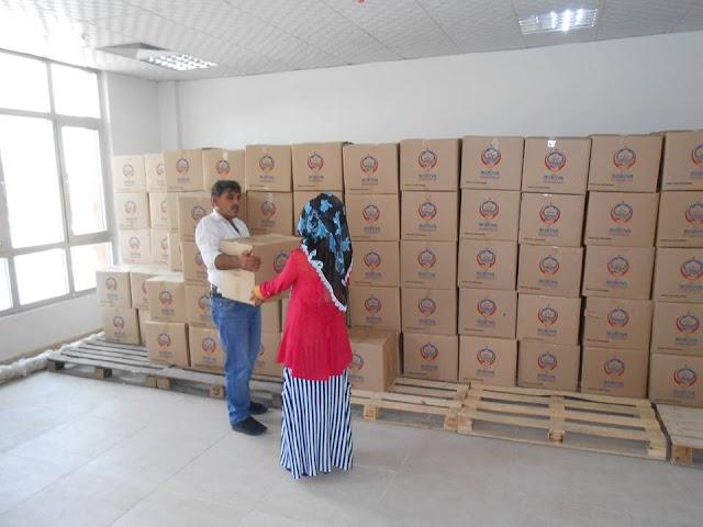 Bozova Kaymakamlığı 800 Aileye Ramazan Paketi Dağıttı