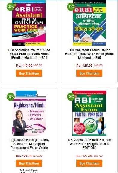 Rbi Assistant Exam Book