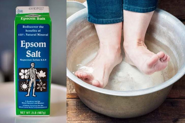 7 Reasons To Soak Your Feet In Epsom Salt