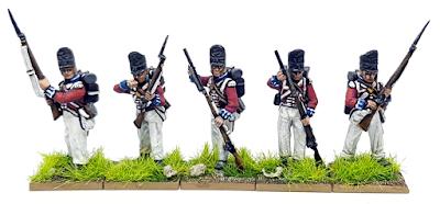 28mm British Line Infantry 1815 Waterloo
