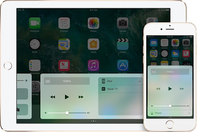 playing in ios10-iphone6s-ipad-home-control-center