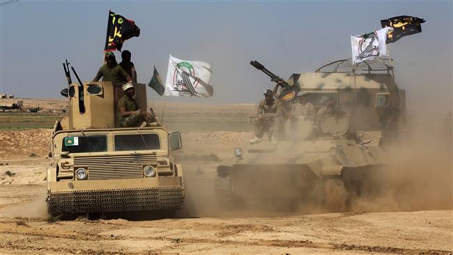 Iraqi Hashd al-Sha'abi forces retake 18 villages near Hawijah from Daesh Takfiri terrorists