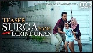 Sinopsis film SURGA YANG TAK DI RINDUKAN 2, Film Indonesia Bioskop Terbaru