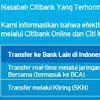 Update...!!! Batas (Limit) Per Transaksi & Per hari ATM CitiBank