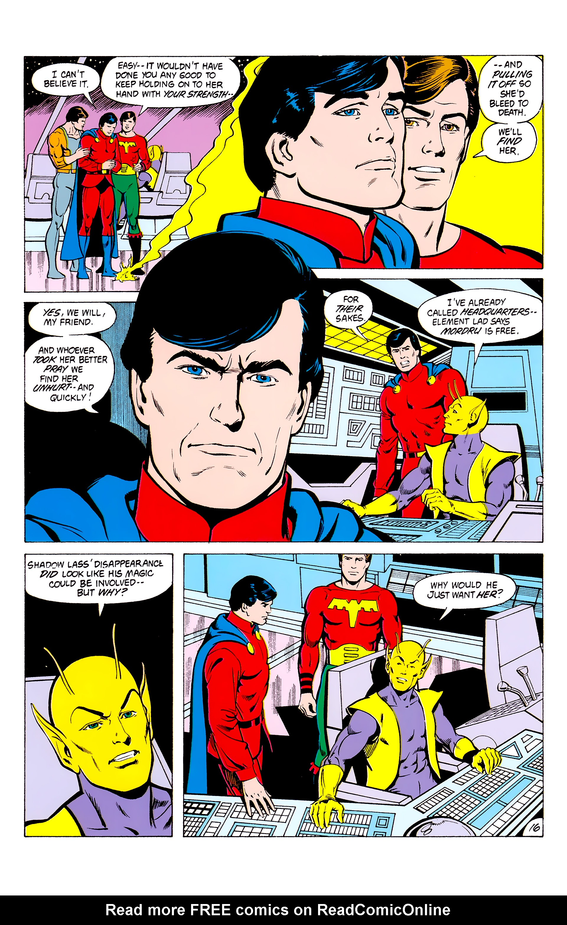 Legion of Super-Heroes (1980) _Annual_3 Page 16