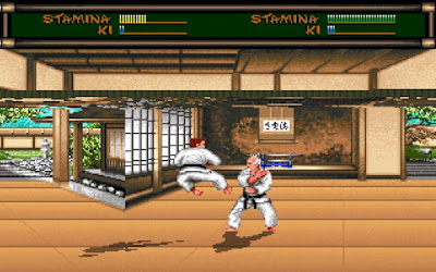 Combate práctica Karate - Budokan