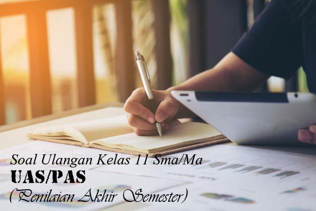Soal PAS Bahasa Indonesia Kelas 11