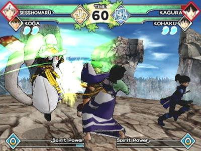 Inuyasha: Feudal Combat (PS2) 2005