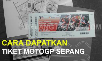 Cara Dapatkan Tiket MotoGP Sepang Malaysia