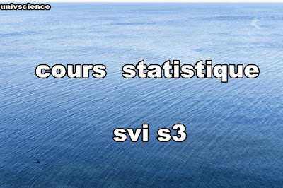 cours  statistique svi s3