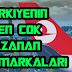 Türkiye'nin en çok kazanan markaları