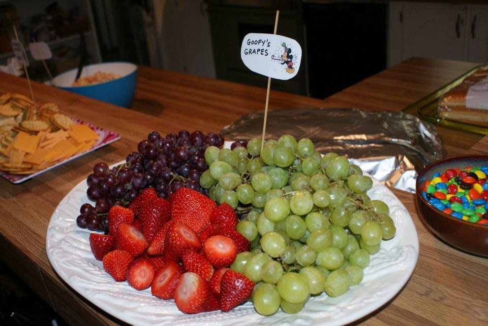 Goofy's Grapes for a Mickey Mouse themed birthday party!