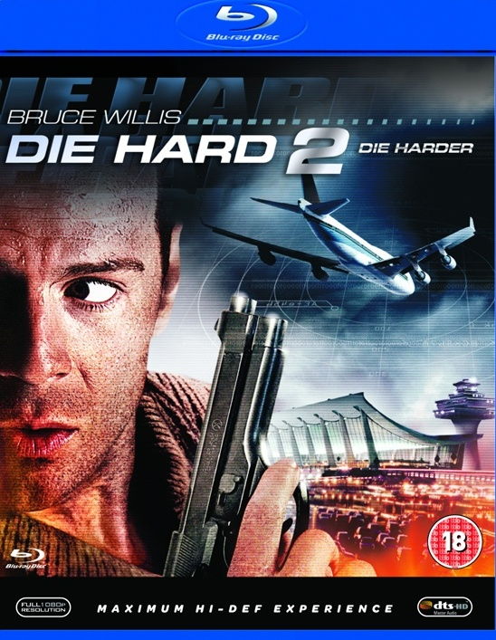 Die Hard 2 Blu Ray 20th Century Fox 1990 Fox Home Video