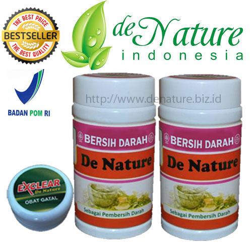 Aturan Minum Kapsul Bersih Darah De Nature Indonesia