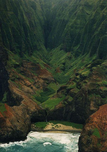 Na Pali Coast State Wilderness Park, Hawaii, USA