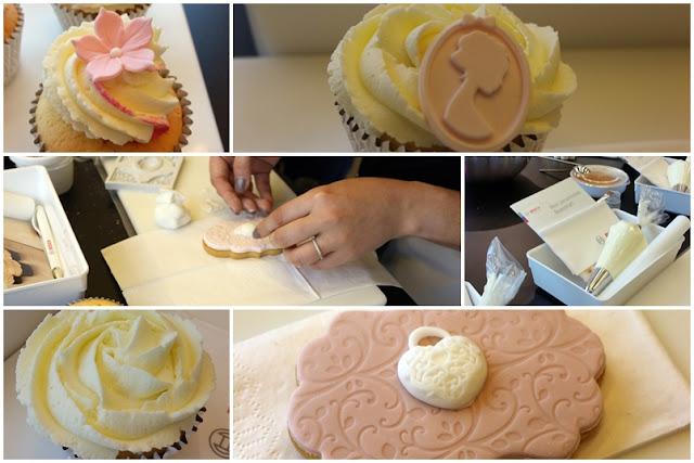 Vintage Cookie- und Cupcake-Kurs