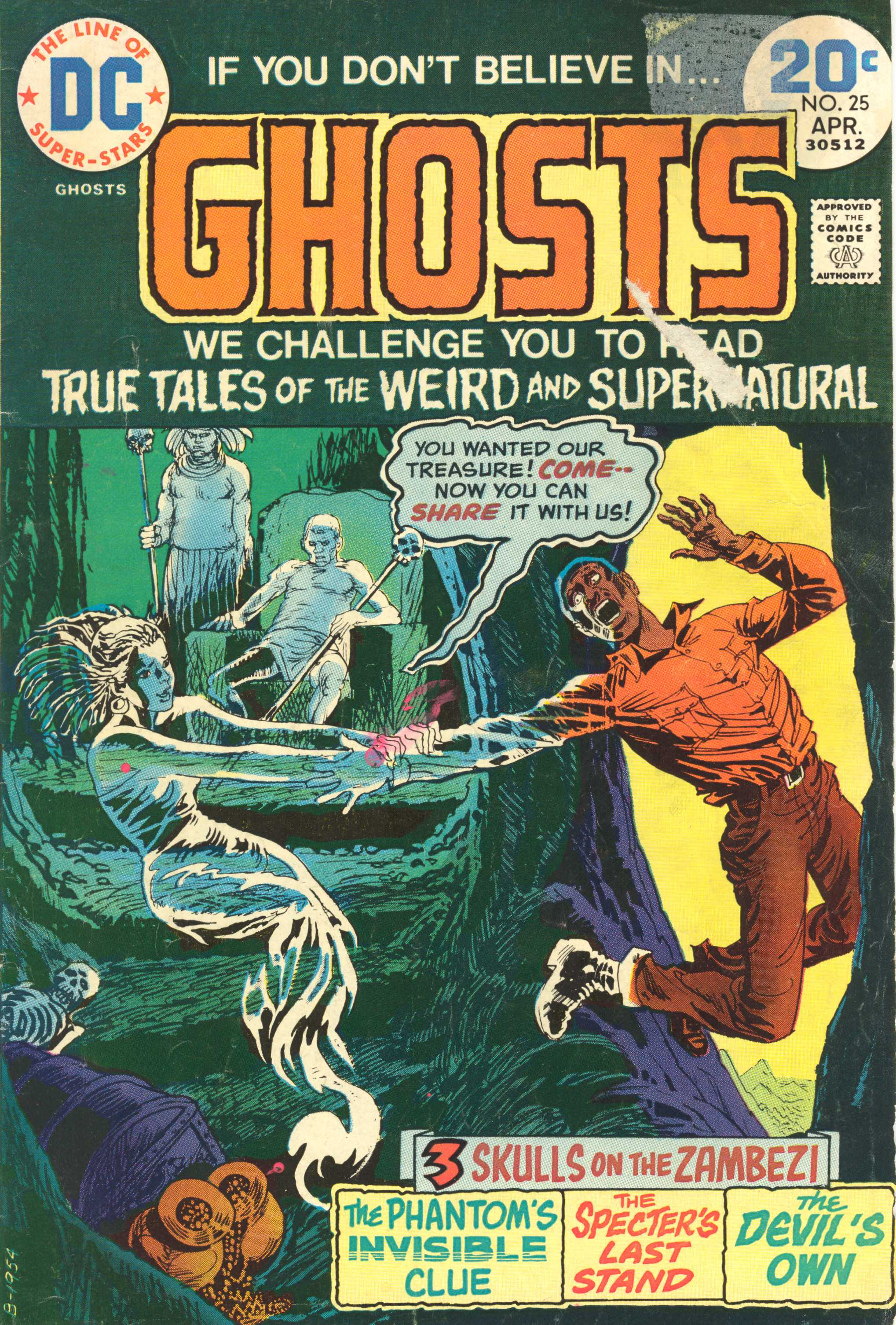 Read online Ghosts comic -  Issue #25 - 1