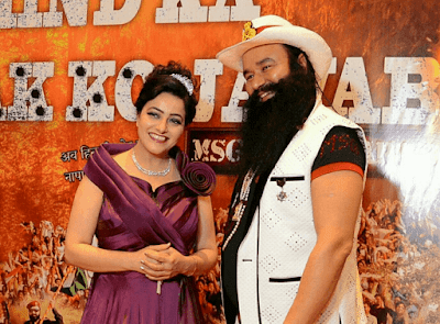 Honey Preet Insan With Ram Raheem Insan Dera Sacha Sauda Sirsa Hd Photo Image & Wallpaper