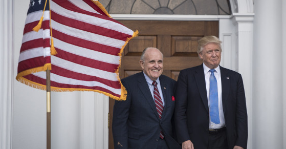 Rudy Giuliani joins Trump legal team, hopes to end Russia probe in 'a week or two'
