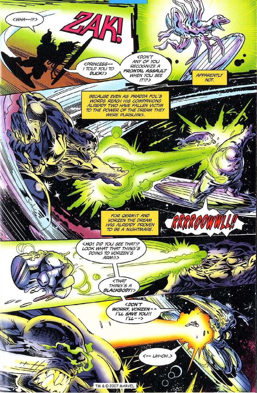 Read online Silver Surfer (1987) comic -  Issue #117 - 15