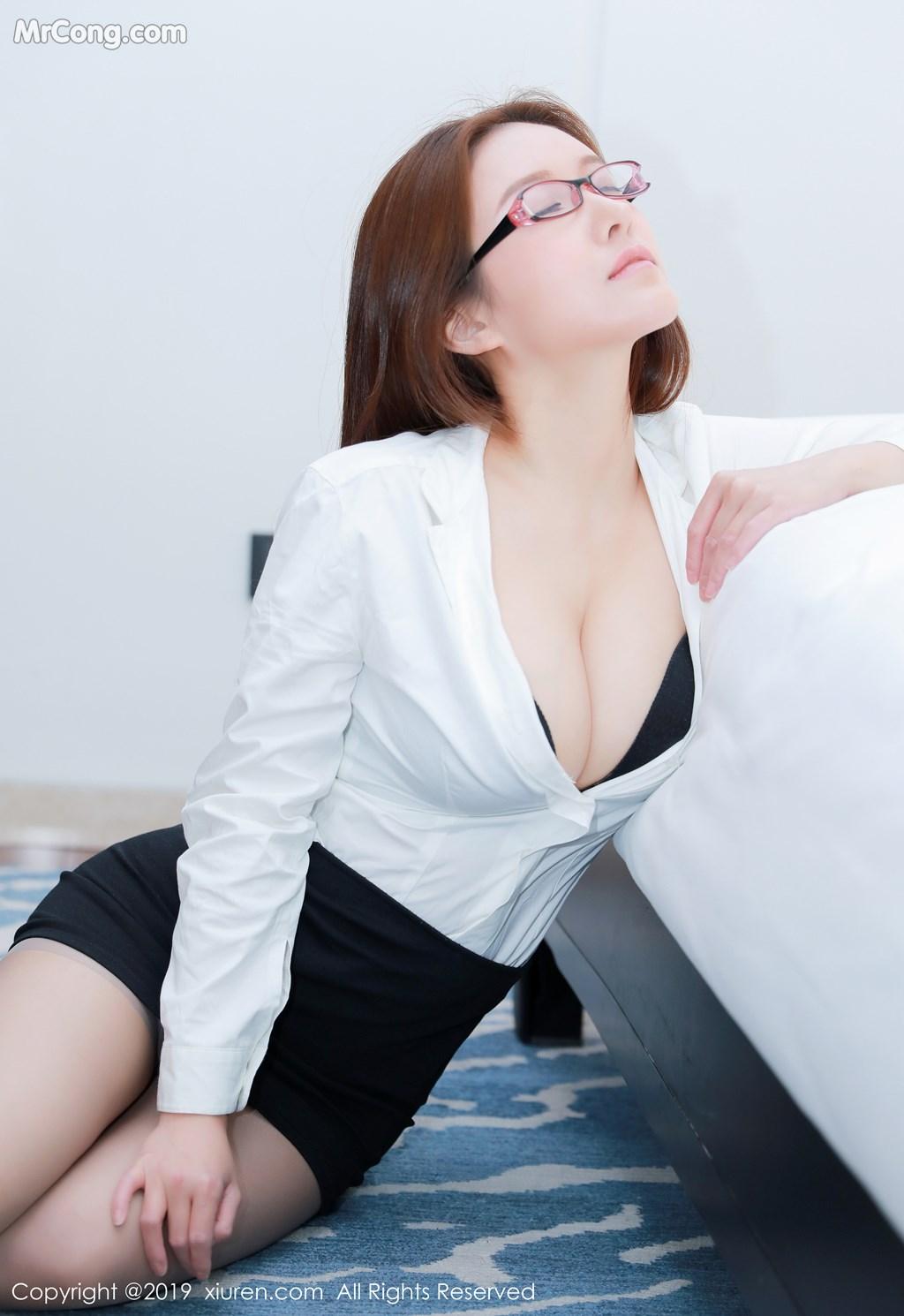 Image XIUREN-No.1457-Jenny-MrCong.com-009 in post XIUREN No.1457: 任莹樱 Jenny (46 ảnh)
