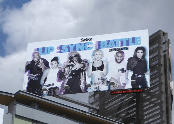 Lip Sync Battle season 2 billboard