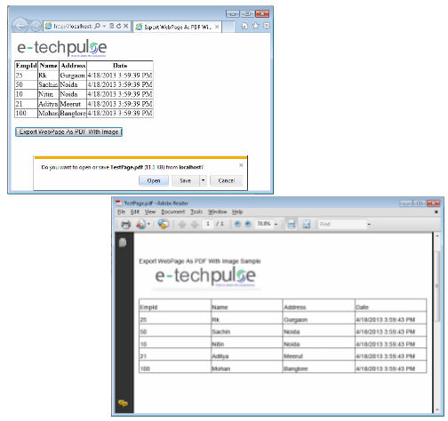 How To Add Header In Pdf Using Itextsharp In C#