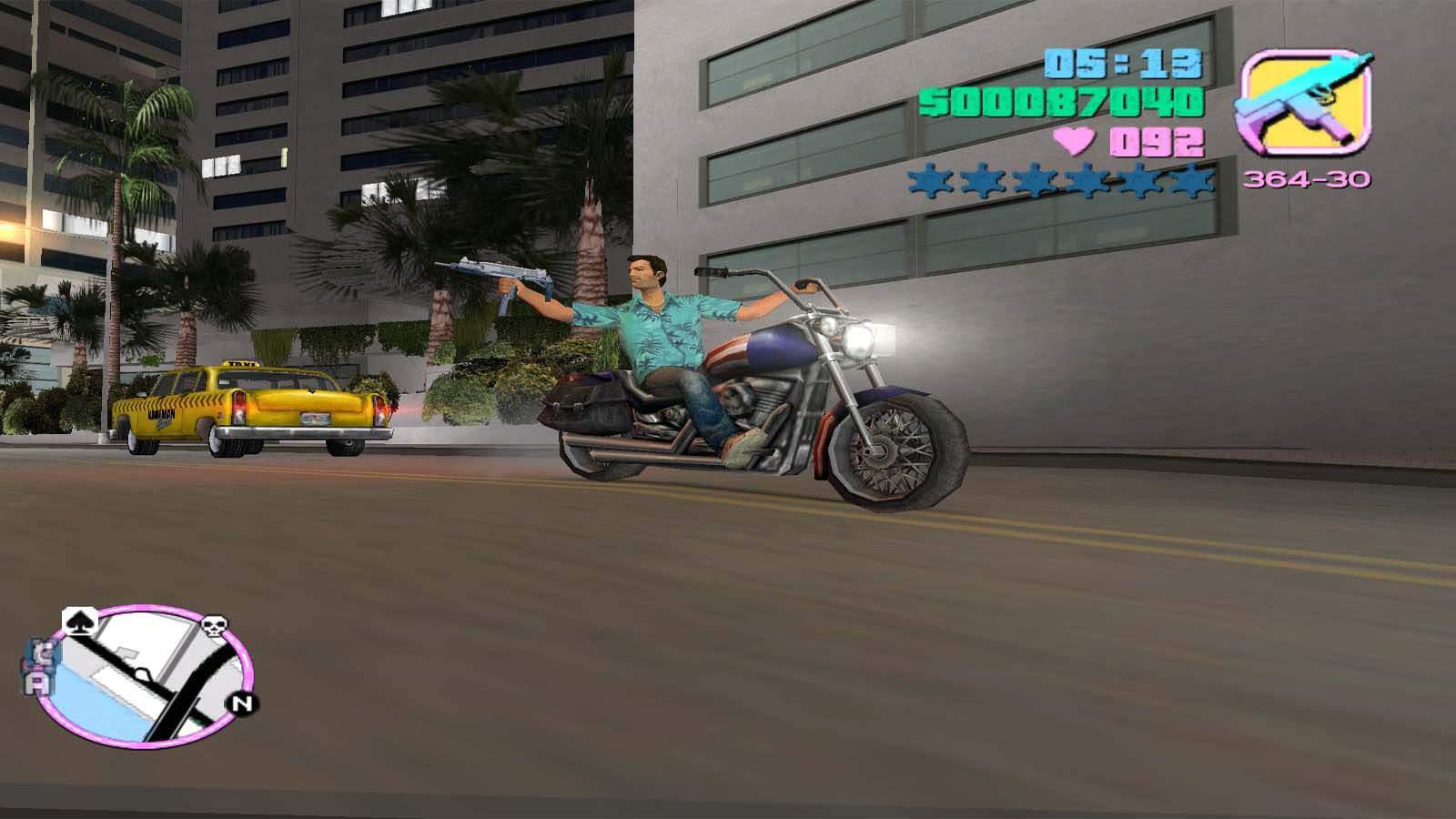 تحميل لعبة GTA Vice City مضغوطة برابط واحد مباشر + تورنت كاملة مجانا