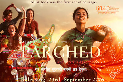 Parched 2016 | Ajay Devgn | Radhika Apte Poster