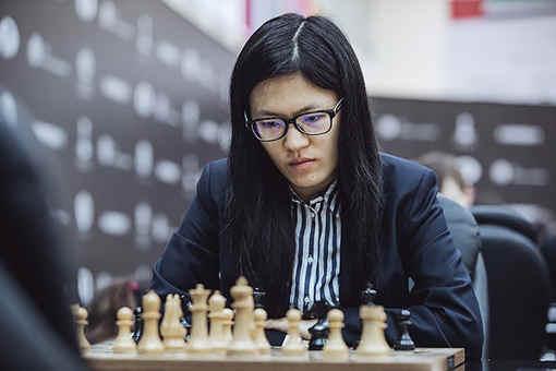La championne du monde chinoise d'échecs Hou Yifan - Photo © Maria Yassakova