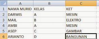 belajar menggunakan rumus perbandingan di ms excel