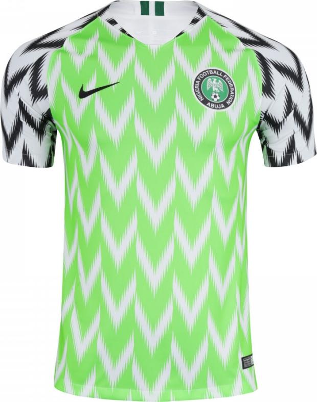 51fe6f6681449 Camisa da Nigéria disputa prêmio com grifes famosas - Show de Camisas
