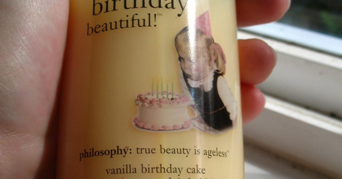 Beyond Just Beauty Philosophy Vanilla Birthday Cake Shampoo Shower Gel Bubble Bath Review And Pictures