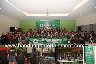 bandung entertainment, eo bandung, jasa event organizer bandung bogor, mice bandung bogor, launching sandal, outdoor pro