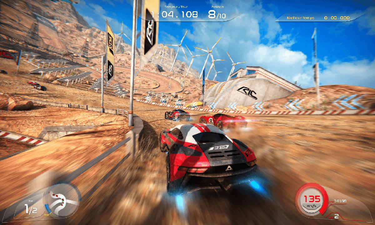 تحميل لعبة سباق سيارات Rise Race