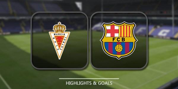 مشاهدة مباراة برشلونة وريال مورسيا Barcelona and Real Murcia اليوم الأربعاء 29-11-2017 بث مباشر