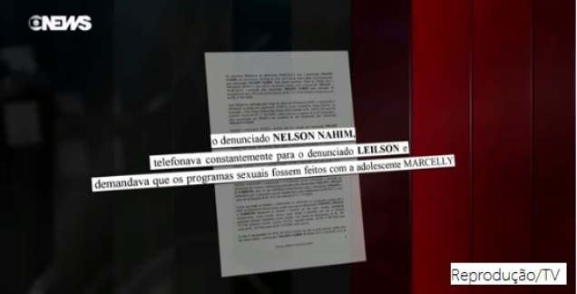 Caso Meninas de Guarus: Nahim demandava que os programas fossem feitos com adolescente.