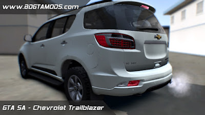 Chevrolet Trailblazer LTZ 2016 para GTA San Andreas