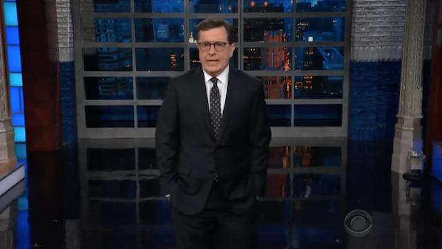 Stephen Colbert Celebrates FBI Raid On Donald Trump Attorney's Office