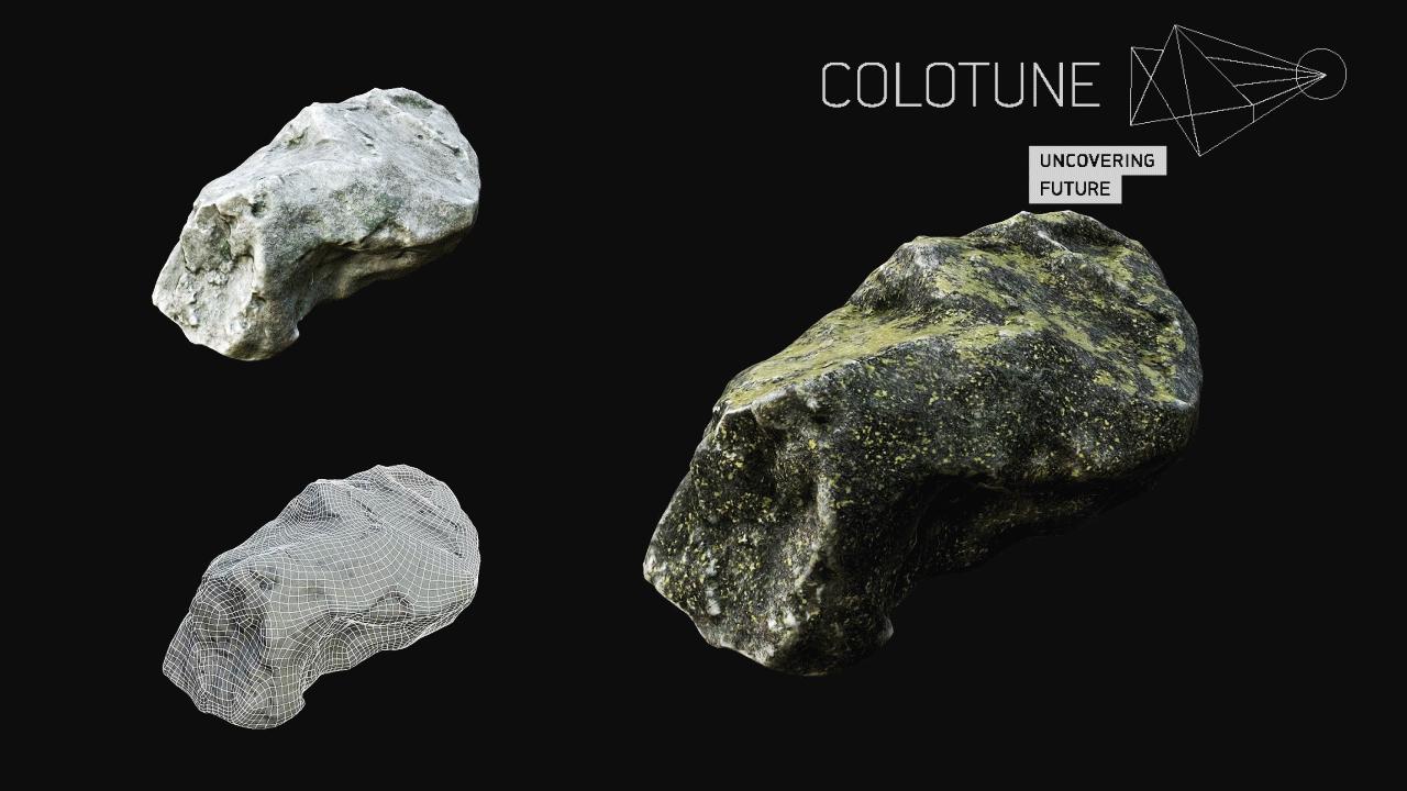Models Free | Rocks | Colotune - CG Vertex