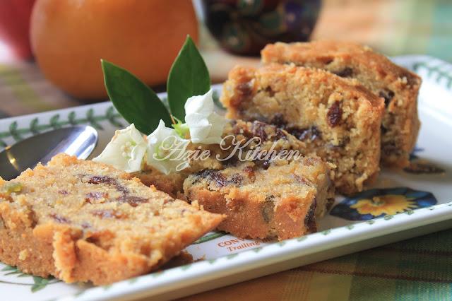 Kek Buah Buahan Campuran Kak Leen