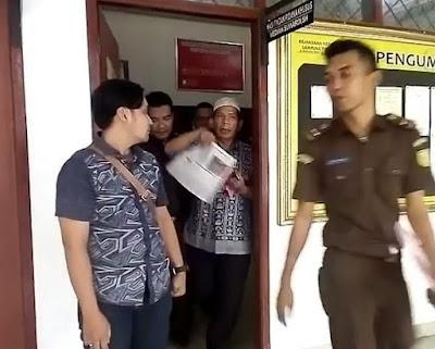 Mantan Kabid di Dinas PU Lampung Timur Jadi Tersangka